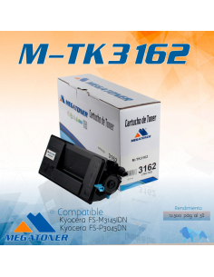 Cartucho MEGATONER M-TK3162...
