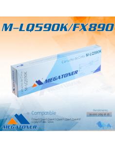 Cinta MEGATONER EPN M-LQ590K/FX890 BK